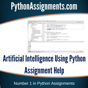 Artificial Intelligence Using Python Assignment Help