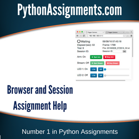 Browser and Session Assignment Help