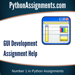 GUI Development Assignment Help