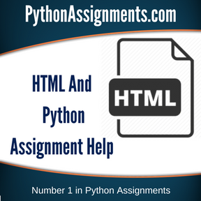 HTML And Python Assignment Help