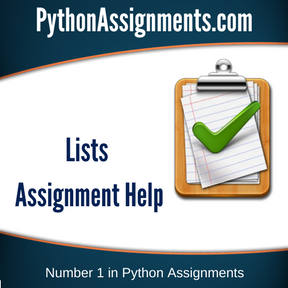 Lists Assignment Help