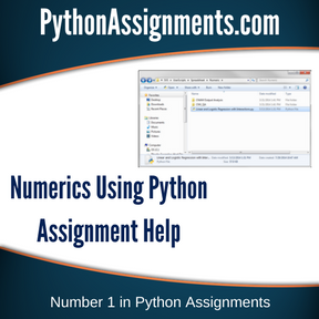 Numerics Using Python Assignment Help