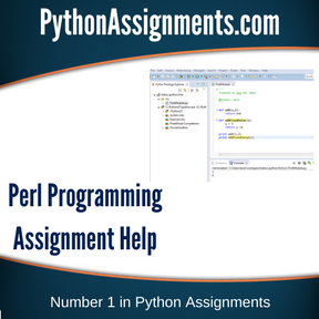Perl Programming Assignment Help
