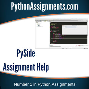 PySide Assignment Help