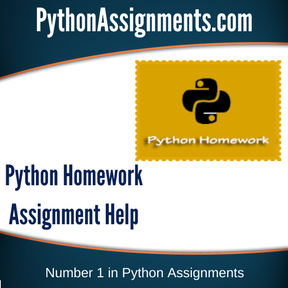 Python Homework Assignment Help