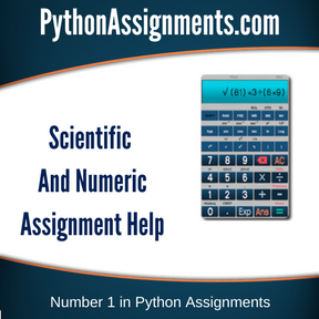 Scientific And Numeric Assignment Help