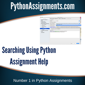 Searching Using Python Assignment Help