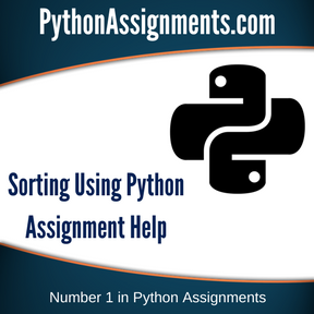 Sorting Using Python Assignment Help