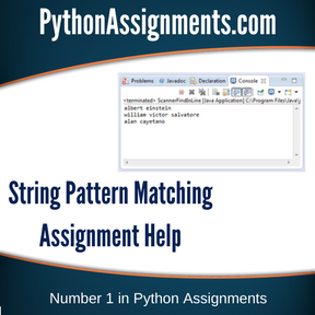 String Pattern Matching Assignment Help