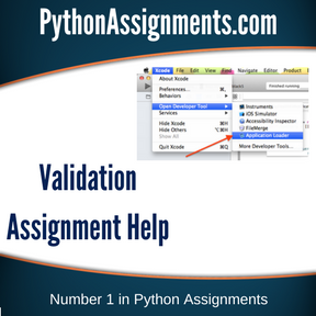 Validation Assignment Help