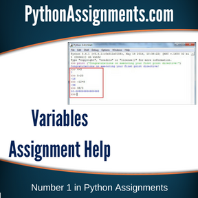 Variables Assignment Help